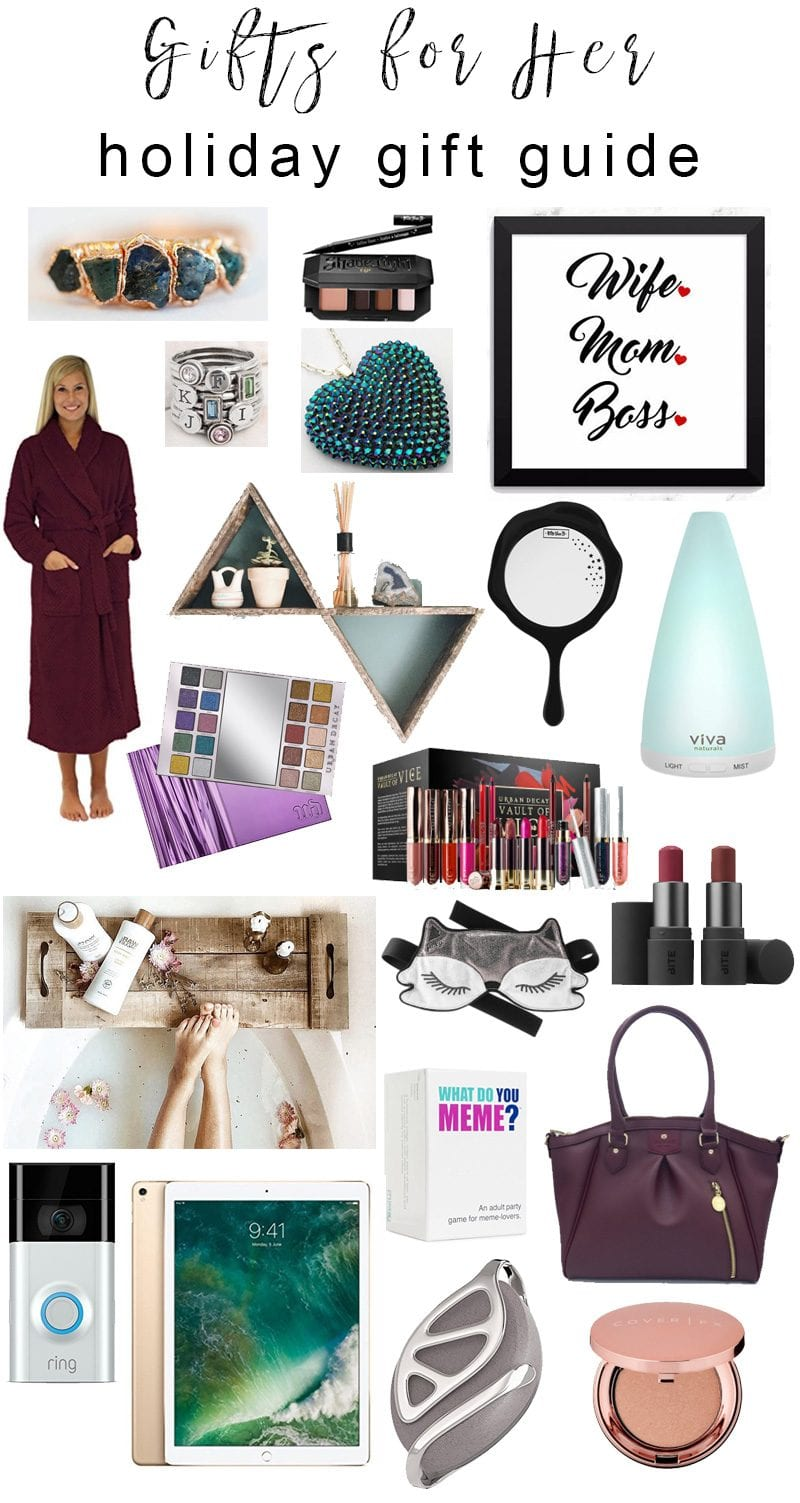 Gifts for Her Holiday Guide - Things you'll love to gift to your wife, mom, sister or special someone!
