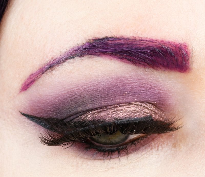 I used Wine n' Dine, Purple Smoke, and Lilac for this look.
