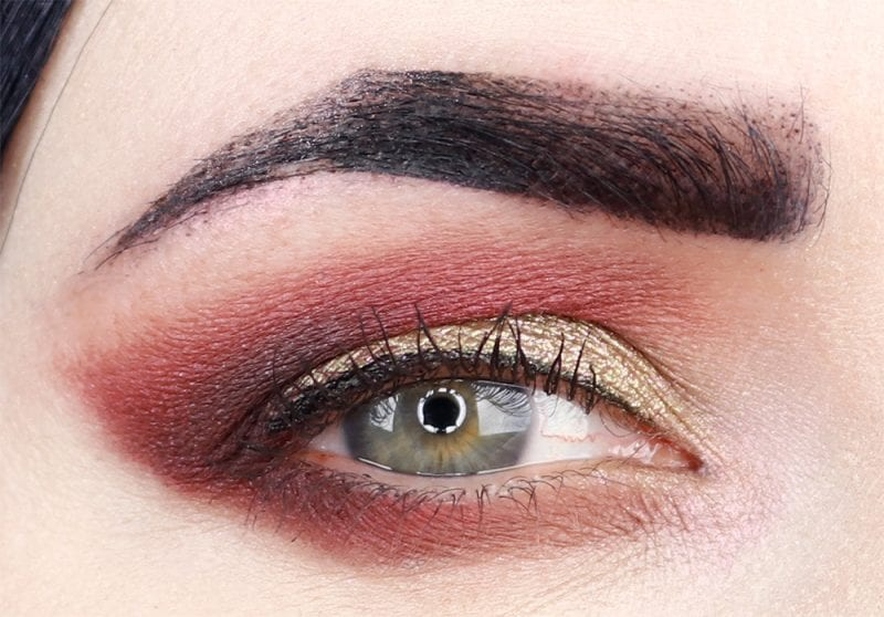 Olive Red Smoky Holiday Tutorial
