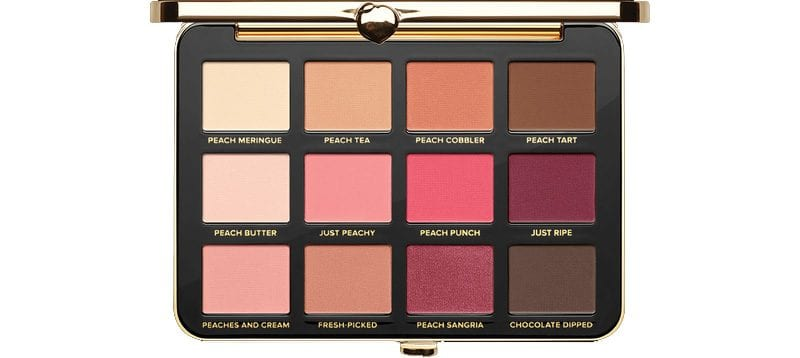 Too Faced Just Peachy Mattes Palette Review Swatches Looks