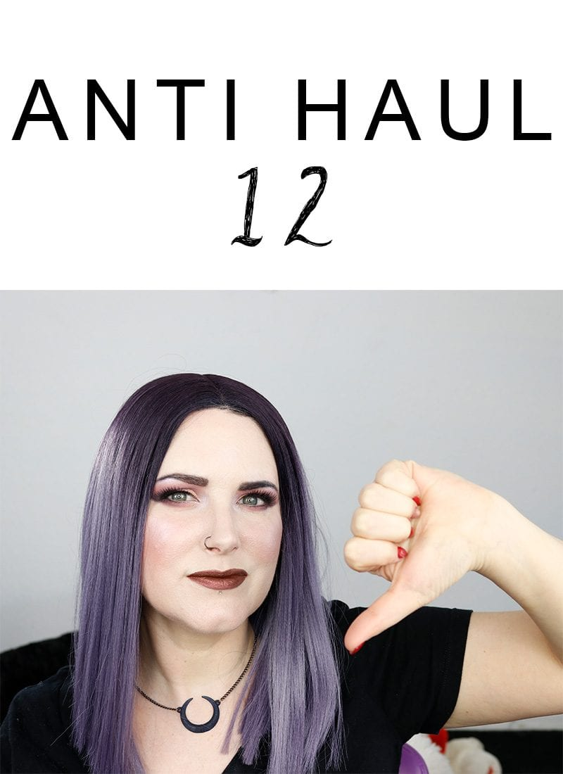 Today I'm sharing my Anti Haul 12, featuring Tarte, Kat Von D, Colour Pop, and More! It's mostly palette focused since I seem to be palette obsessed. Everything is, of course, cruelty free.