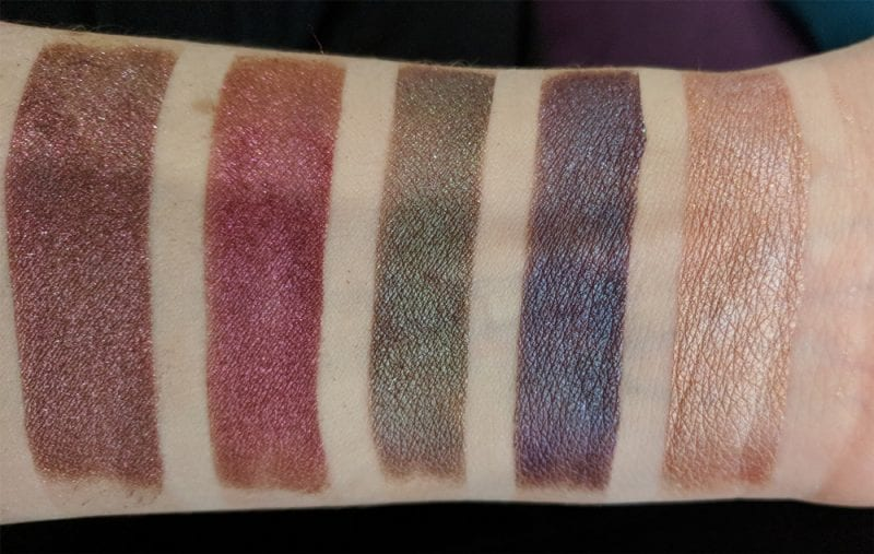 Aromaleigh Orpheus and Eurydice swatches