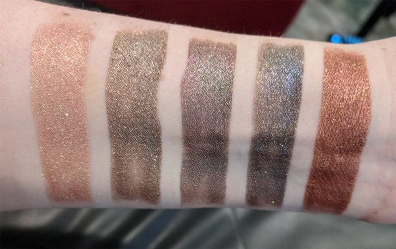 Aromaleigh Orpheus and Eurydice swatches and review