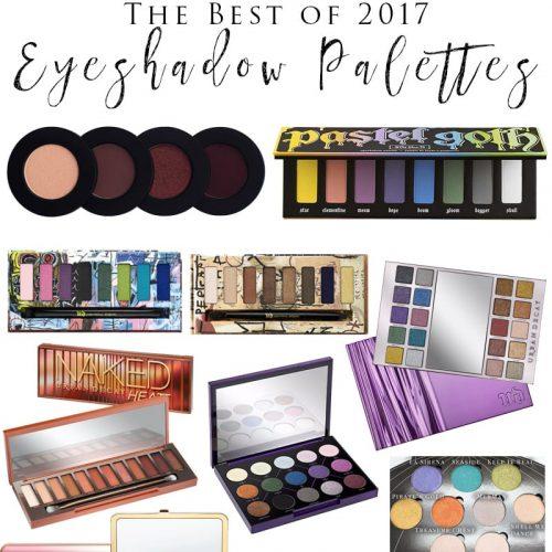 Best Eyeshadow Palettes of 2017