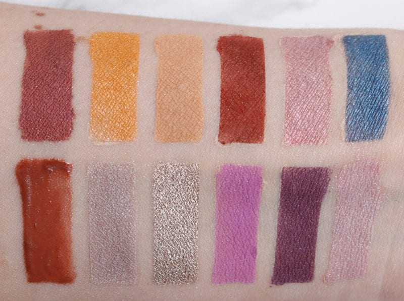 Darling Girl Double Feature Die Hard & Love Actually swatches