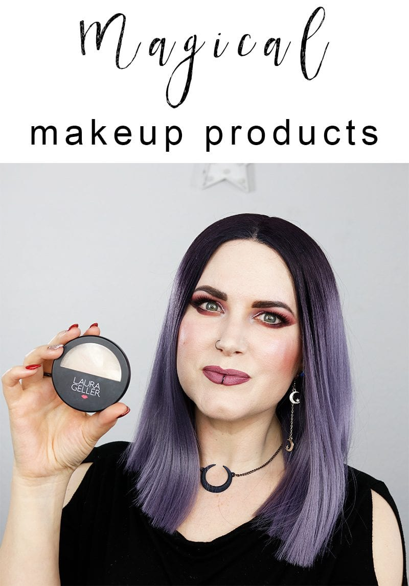 Witcraft! Magical Makeup Products - I share my top 9 awesome products that work so well, they're like magic!