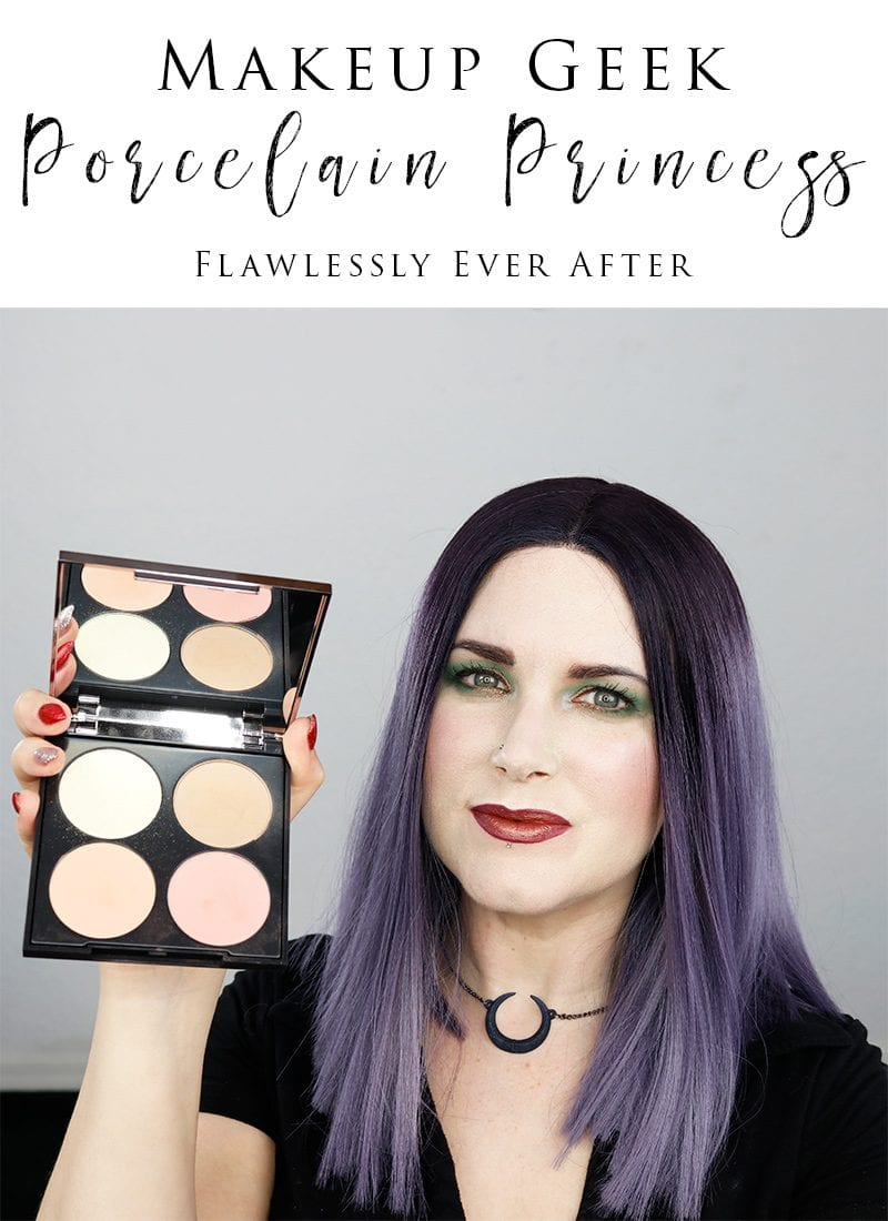 Makeup Geek Porcelain Princess Flawless Face Palette Review, Rant and Swatches. See why I think you should probably skip this palette.