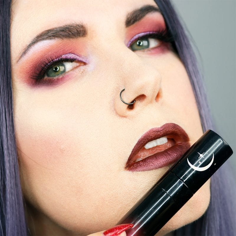 Black Moon Cosmetics Liquid Lipstick in Selene
