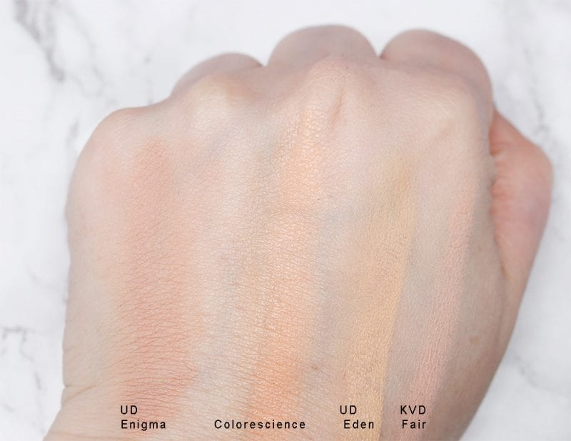 Colorescience Total Eye 3-in- 1 Renewal Therapy SPF 35 Primer swatch