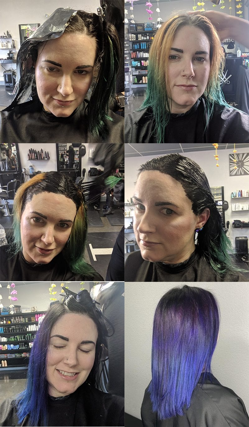 Pravana Galaxy Hair How To