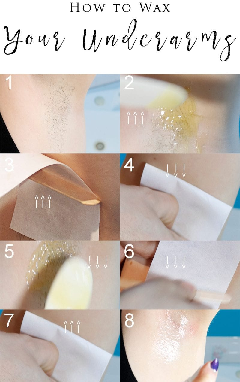 How to Wax Your Underarms the right way with Parissa Wax
