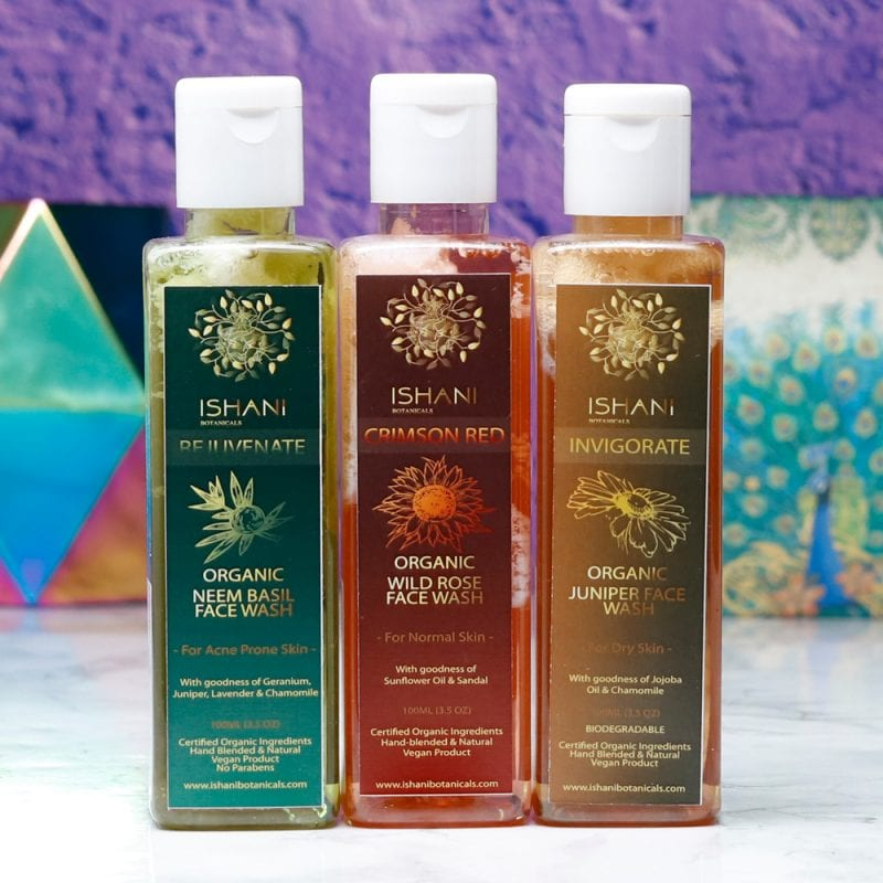 Ishani Botanicals Face Washes