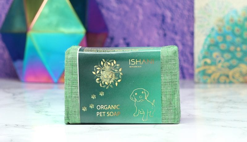 Ishani Botanicals Pet Soap