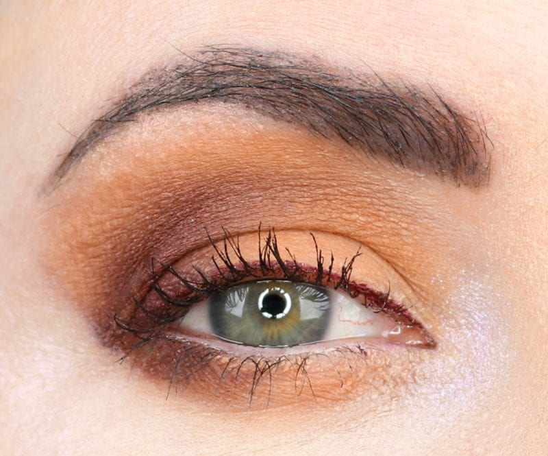 Melt She's in Parties Stack plus Too Faced Just Peachy Mattes