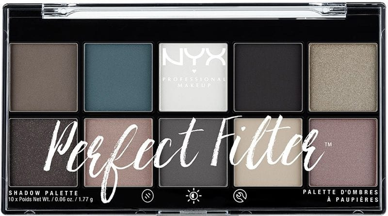 Nyx Gloomy Days Perfect Filter Shadow Palette