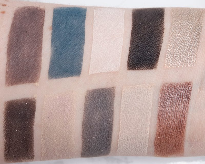 Nyx Perfect Filter Palette in Gloomy Days swatches on Fair Skin