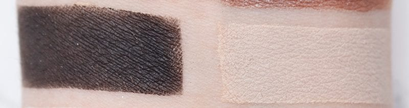 Nyx Gloomy Days Perfect Filter Shadow Palette Swatches on Pale Skin