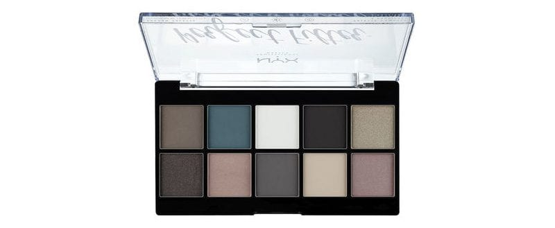 Nyx Perfect Filter Palette in Gloomy Days