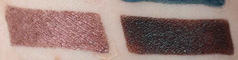 Nyx In Your Element Water Palette swatches on pale skin