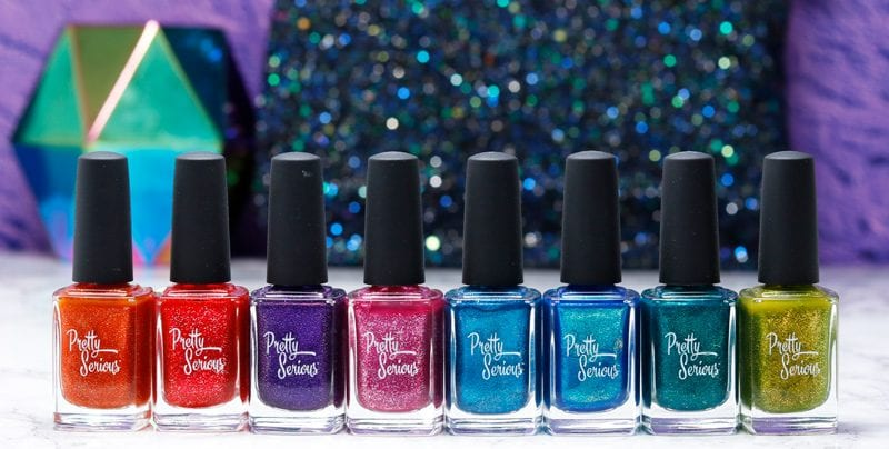 Pretty Serious Consider Outer Space Collection Swatches and Review