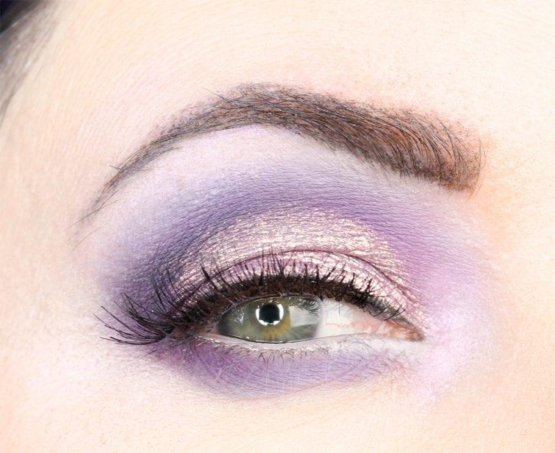 Wearing Stila Cloud with Kat Von D Pastel Goth and Kylie Purple Palette