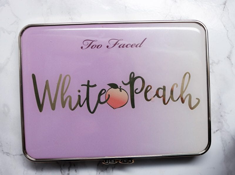 Too Faced White Peach Palette Review Swatches Demo
