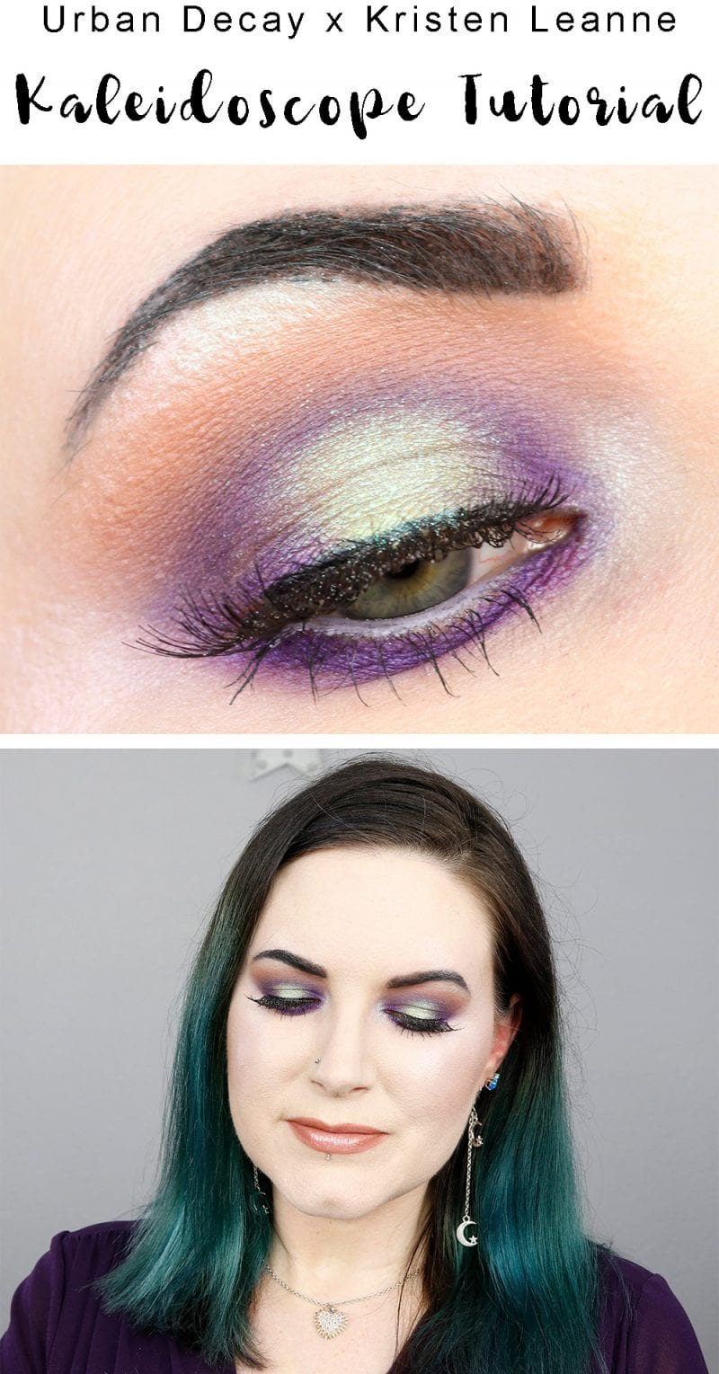 Urban Decay Kaleidoscope Tutorial - Get inspired with my Kaleidoscope palette collaboration tutorial with Blushing Noir!