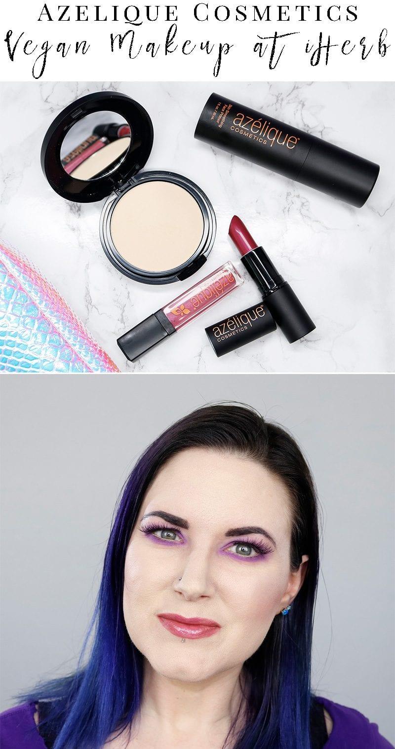 Azelique Cosmetics Launch on iHerb - brand new cruelty-free gluten-free vegan makeup.