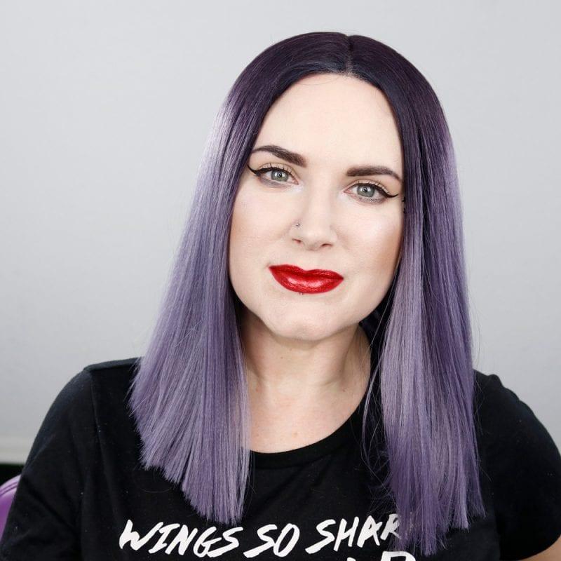 Kat Von D Everlasting Glimmer Veil Liquid Lipstick in Dazzle