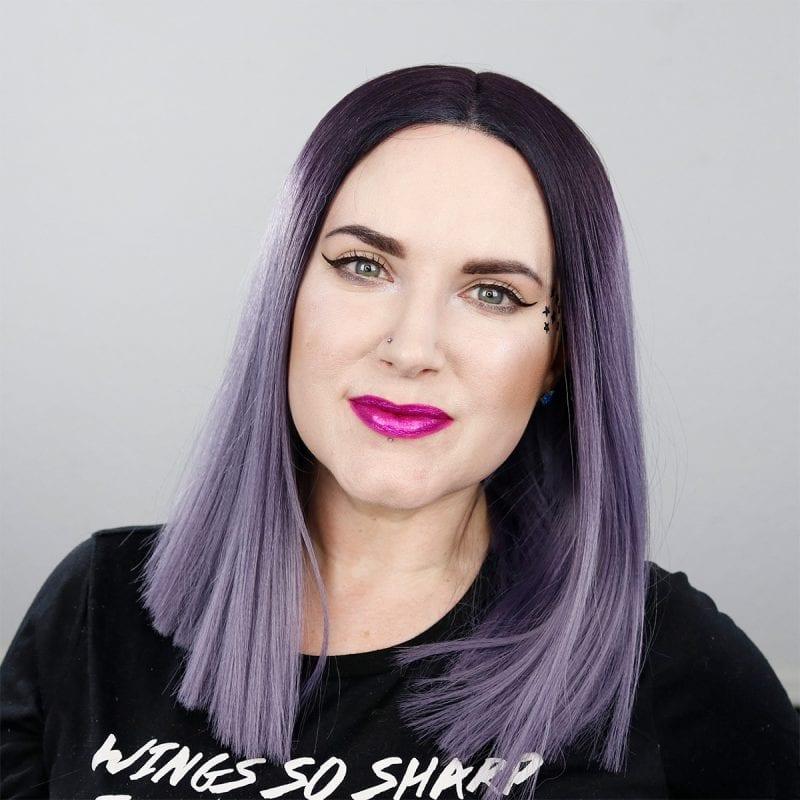 Kat Von D Everlasting Glimmer Veil Liquid Lipstick in Razzle