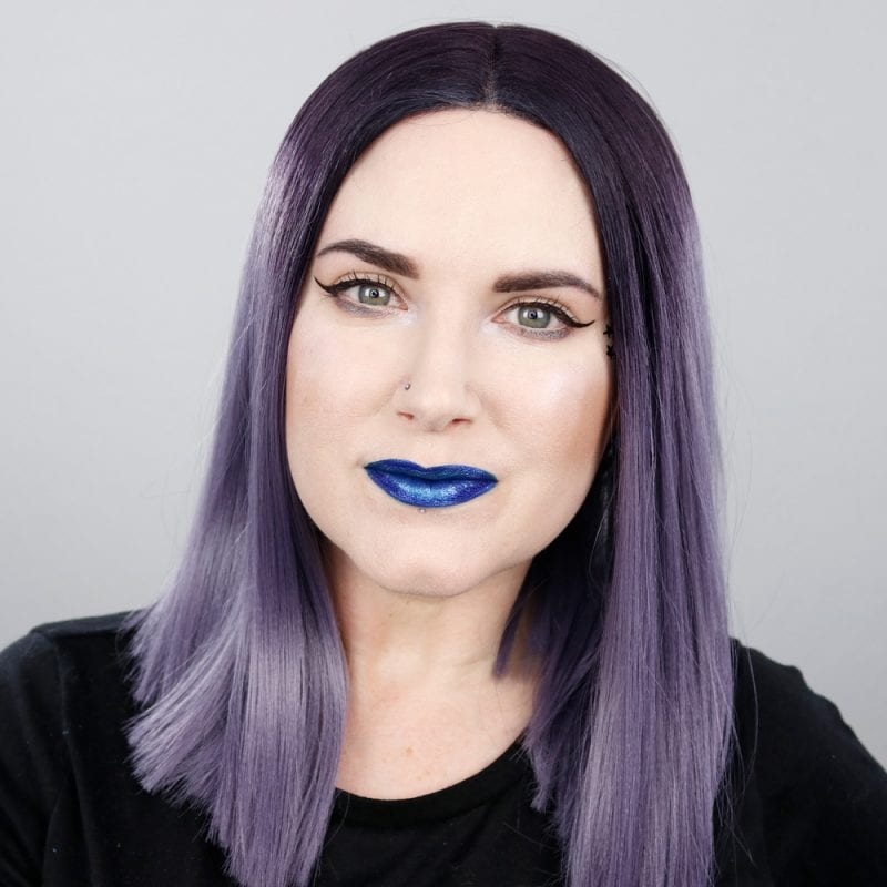 Kat Von D Everlasting Glimmer Veil Liquid Lipstick in Reverb