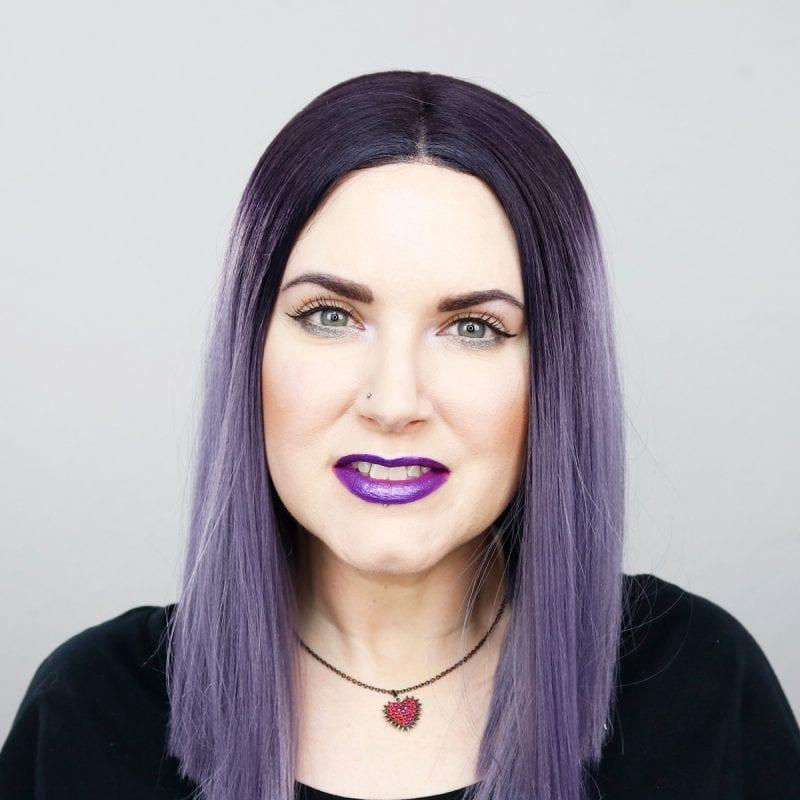 Wearing Kat Von D Roxy pencil, Urban Decay Cloud 9 lipstick, Kat Von D Televator & Starflyer Glimmer Veil Liquid Lipsticks