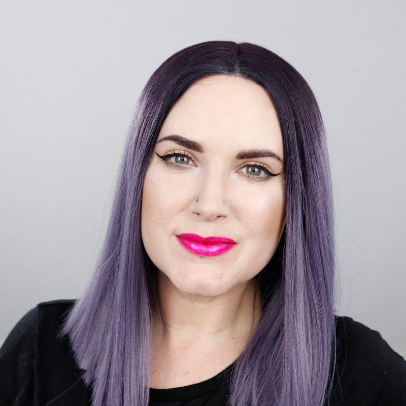 Kat Von D Everlasting Glimmer Veil Liquid Lipstick in Shockful