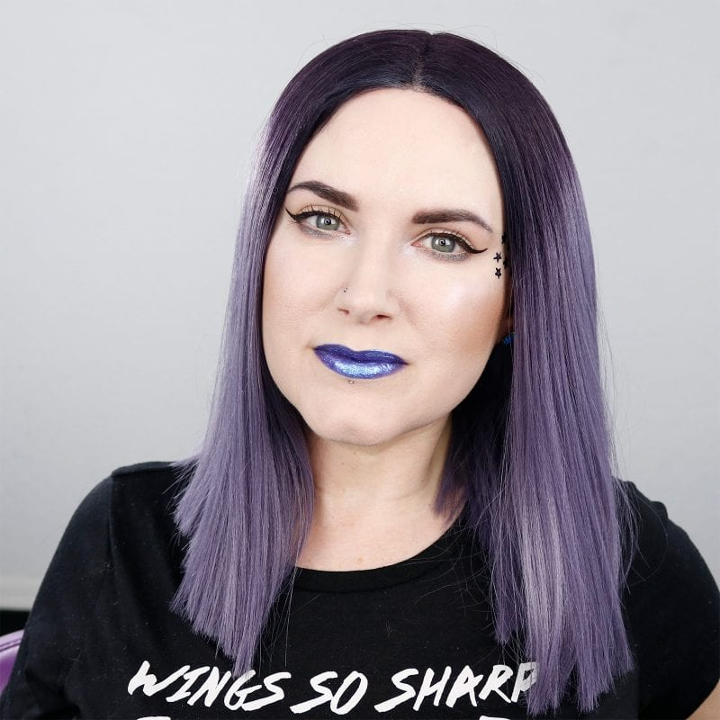Kat Von D Everlasting Glimmer Veil Liquid Lipstick in Starflyer