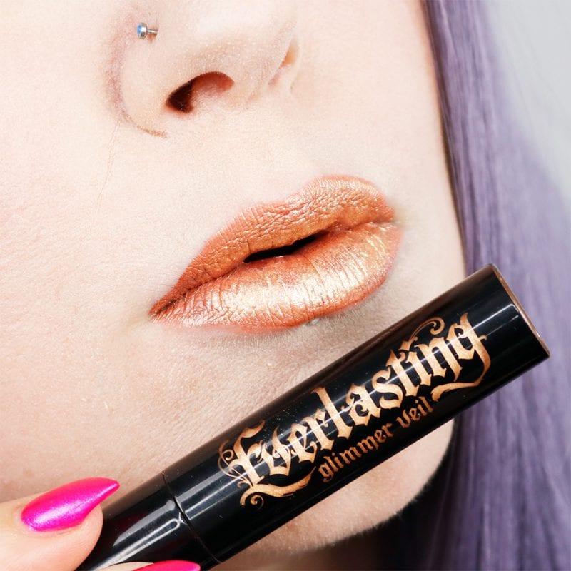 Kat Von D Everlasting Glimmer Veil Liquid Lipstick in Thunderstruck