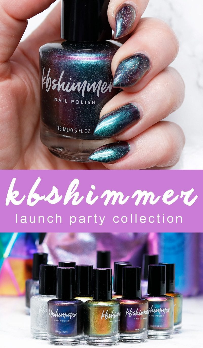 KBShimmer Launch Party Collection Review, Swatches, Looks, Manis