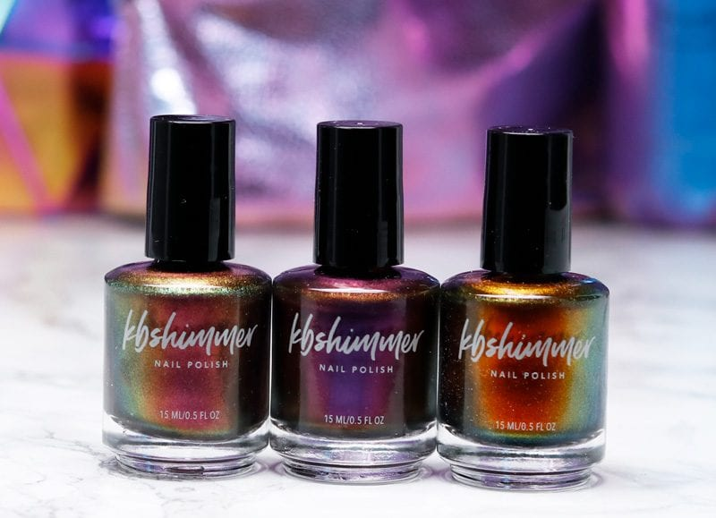 KBShimmer Launch Party Collection Nail Polish Swatches