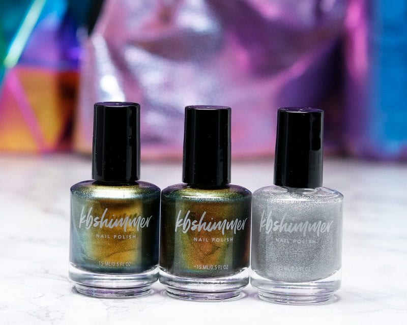 KBShimmer Launch Party Collection Nail Polish
