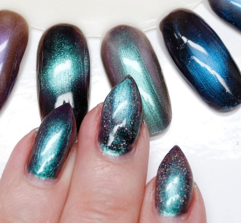 KBShimmer Spaced Out Swatches
