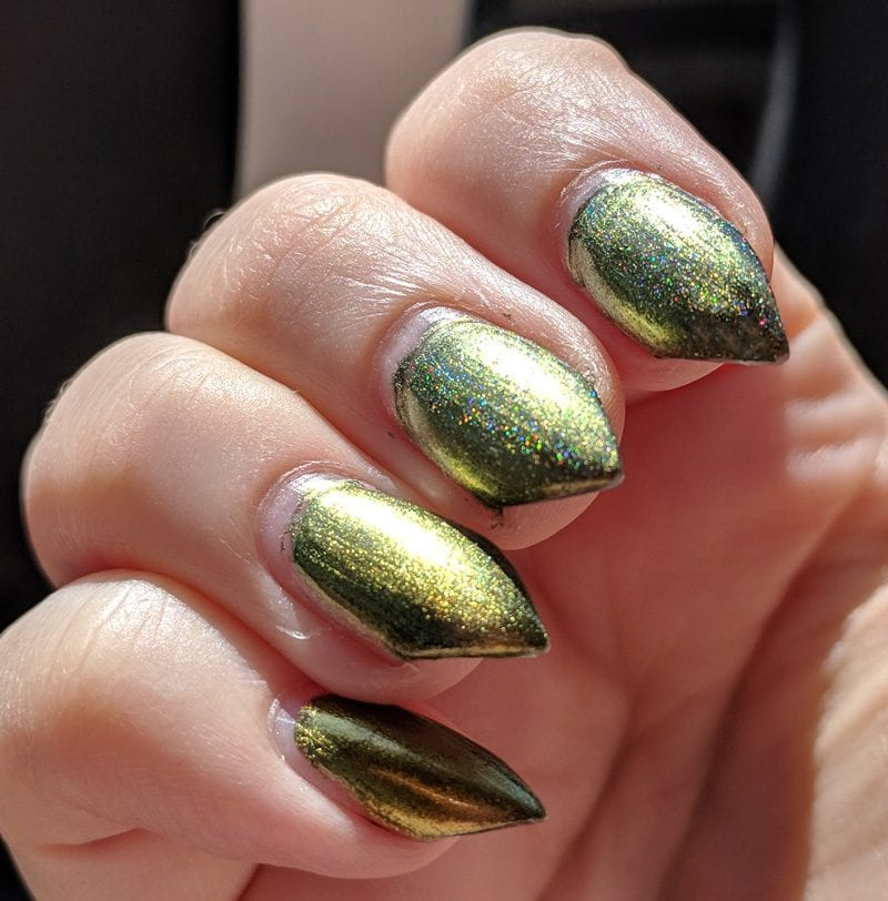 KBShimmer Thrust Issues in the sun