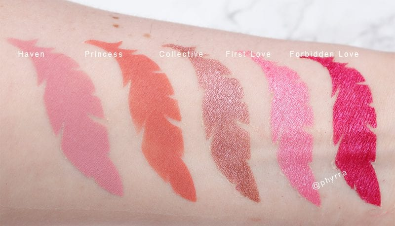 Sydney Grace DIY Cool Berries Swatches