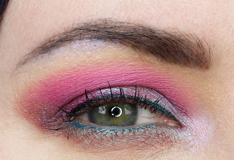 Wearing Too Faced Life's a Festival Eyeshadow Palette