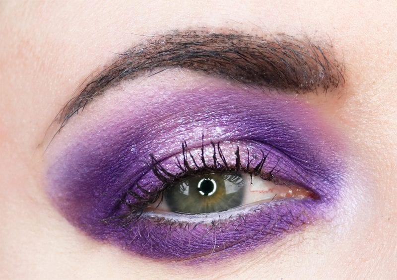Cruelty-free UltraViolet Makeup Tutorial