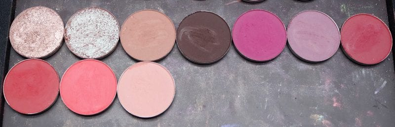 Colour Pop DIY Cool Berries Eyeshadows