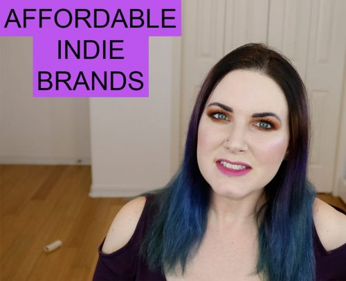 Affordable Indie Makeup and Skin Care Brands