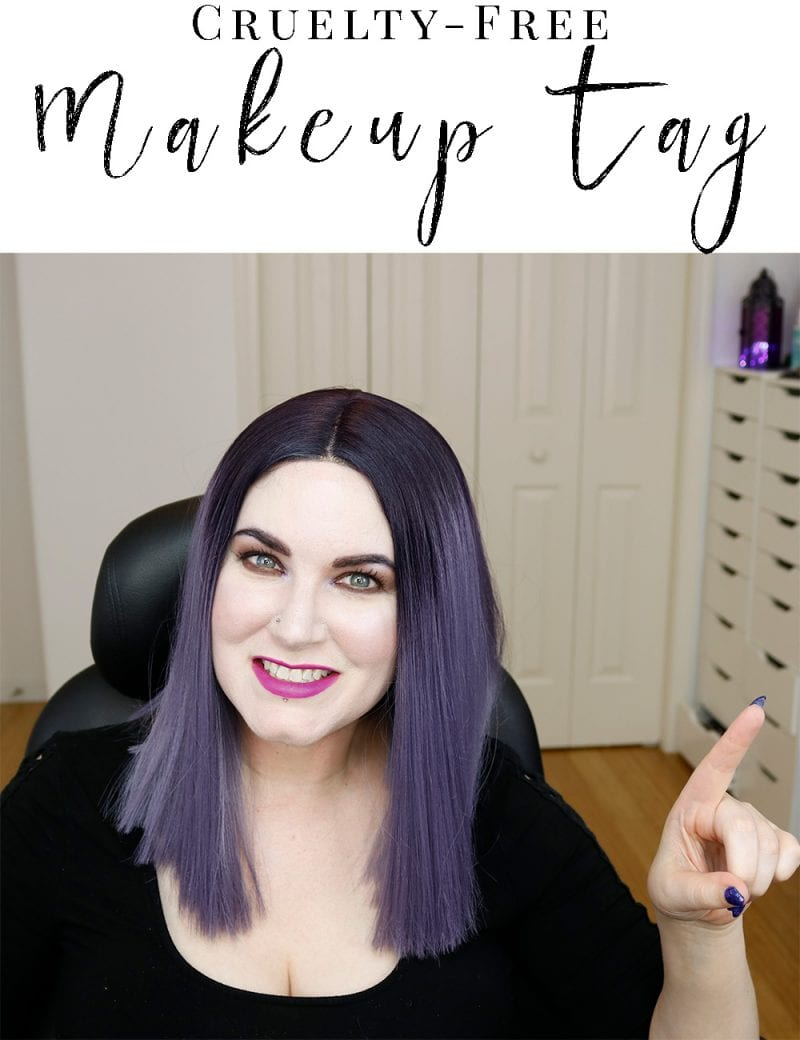 Cruelty-Free Makeup Tag - This is the cruelty-free makeup tag! Learn about cruelty-free makeup and beauty!