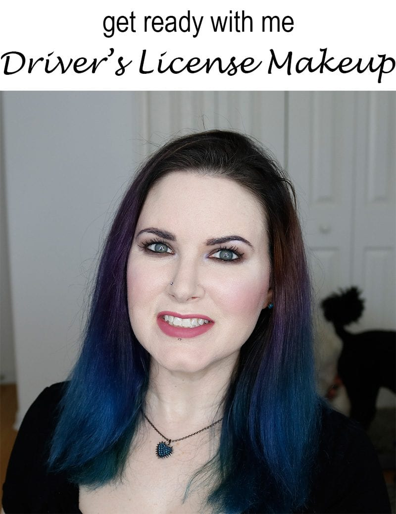GRWM Hair & Makeup to Get My Driver's License - what I wore to get my latest driver's license photo updated