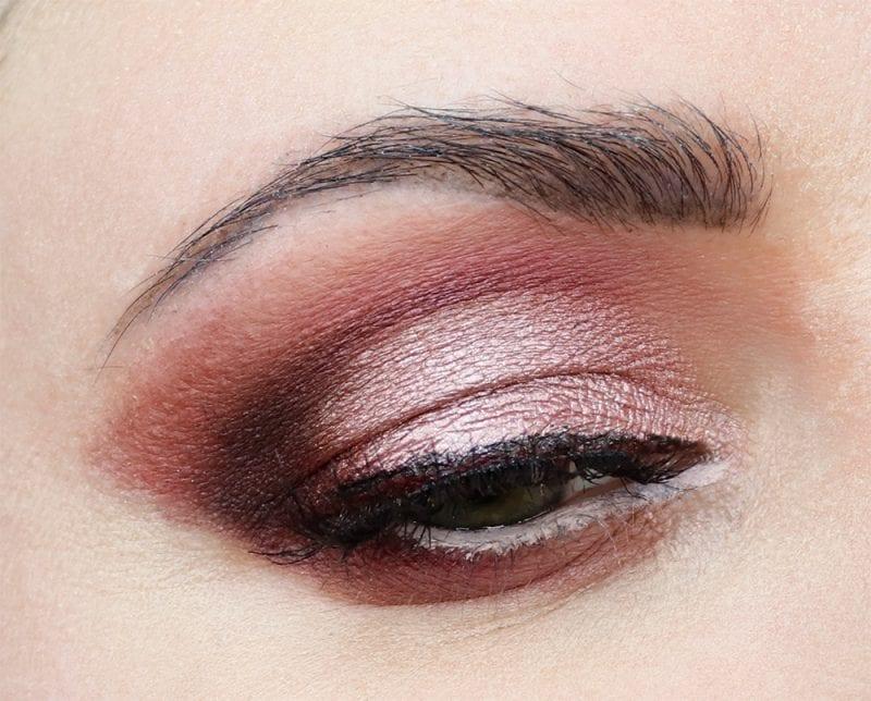 Cruelty-free Pink & Burgundy Makeup Look
