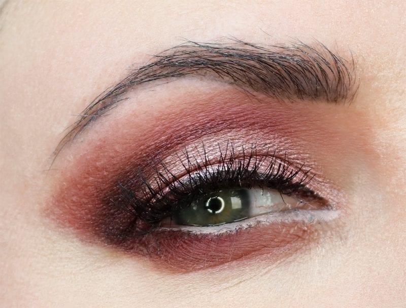 Hooded Eye Cut Crease Makeup Look