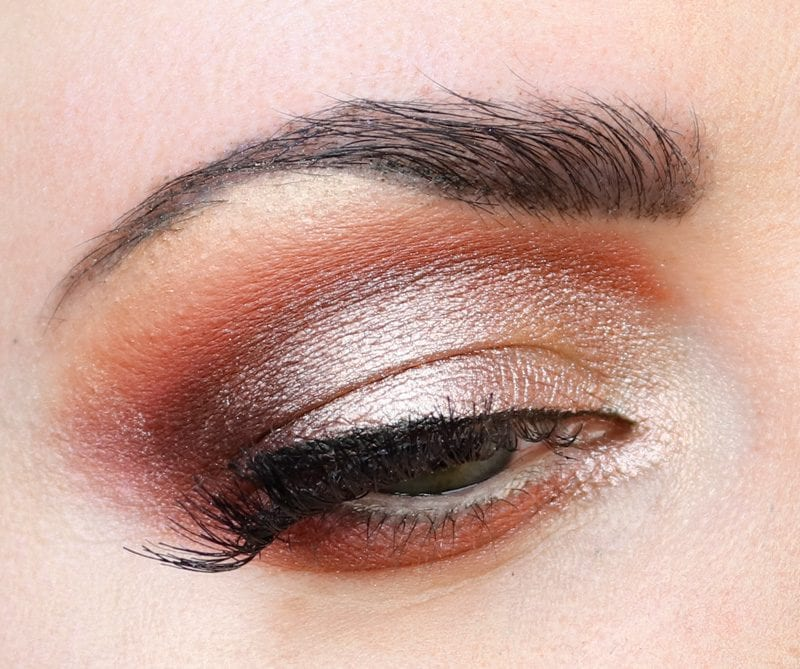 Hooded Eye Makeup Look